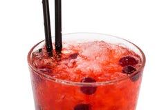 Cocktail del mirtillo rosso Immagine Stock Libera da Diritti