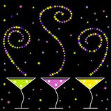 Cocktail del partito illustrazione vettoriale