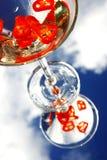 Cocktail del peperoncino rosso Fotografie Stock