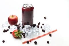 Cocktail del ribes nero, dieta sana di rinfresco del succo Bevanda fredda immagini stock