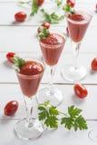 Cocktail del succo di pomodoro Immagine Stock Libera da Diritti