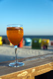 Cocktail del Sundowner Immagine Stock