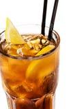 Cocktail del tè di ghiaccio del Long Island Fotografia Stock Libera da Diritti