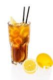 Cocktail del tè di ghiaccio del Long Island Immagine Stock Libera da Diritti