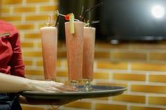Cocktail dell'alcool fotografia stock