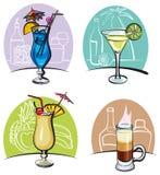 Cocktail dell'alcool illustrazione di stock