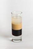 Cocktail dell'alcool su fondo bianco Immagine Stock Libera da Diritti