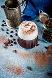 Cocktail dell'irish coffee immagini stock