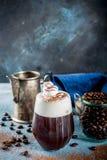 Cocktail dell'irish coffee immagine stock libera da diritti