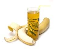 Cocktail della banana. Immagini Stock
