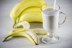 Cocktail della banana Fotografia Stock
