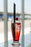 Cocktail della ciliegia Immagini Stock