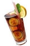 Cocktail della cola Fotografie Stock Libere da Diritti