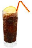 Cocktail della cola con ghiaccio tritato Immagine Stock