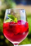 Cocktail della fragola Immagine Stock