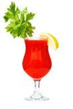 Cocktail della Mary sanguinante fotografia stock