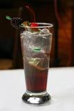 Cocktail della mora fotografia stock
