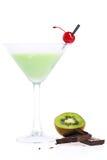 Cocktail della mousse della frutta Fotografia Stock