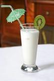 Cocktail della noce di cocco immagini stock libere da diritti
