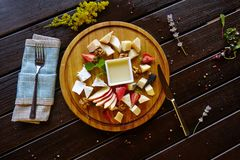 Cocktail delle bevande del dessert delle verdure della pasta delle verdure del piatto della squisitezza della carne dell'alimento fotografia stock libera da diritti
