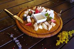 Cocktail delle bevande del dessert delle verdure della pasta delle verdure del piatto della squisitezza della carne dell'alimento fotografia stock
