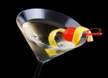 Cocktail dello smoking immagine stock