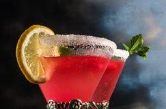 Cocktail der roten Farbe Lizenzfreie Stockfotos