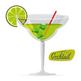 Cocktail design Stock Image