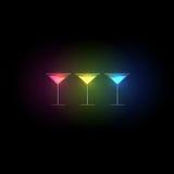 Cocktail design menu background vector illustration