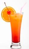 Cocktail di alba di Tequila Fotografia Stock