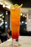 Cocktail di alba di tequila per vita notturna Immagini Stock Libere da Diritti