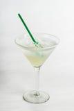 Cocktail di Alckohol su fondo bianco Immagine Stock Libera da Diritti