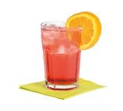 Cocktail di Americano Fotografie Stock