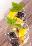 Cocktail di Blackberry Immagini Stock