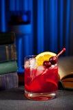 Cocktail di Bourbon immagini stock libere da diritti