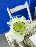 Cocktail di Caipirinha Fotografie Stock