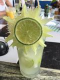 Cocktail di Caipirinha Immagini Stock