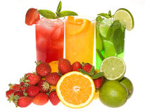 Cocktail di Fruties Immagini Stock