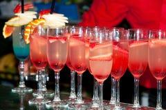Cocktail di frutta fotografie stock libere da diritti