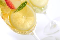 Cocktail di frutta fotografie stock