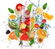 Cocktail di frutta Fotografia Stock Libera da Diritti