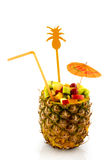 Cocktail di frutta Immagini Stock