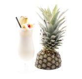 Cocktail di frutta naturale Fotografie Stock Libere da Diritti