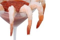 Cocktail di gambero immagine stock libera da diritti