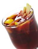 Cocktail di inverno - vino sciupato Fotografia Stock Libera da Diritti