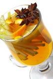 Cocktail di inverno - vino sciupato Fotografia Stock