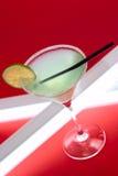 Cocktail di Margarita sulla barra Fotografie Stock Libere da Diritti