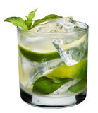 Cocktail di Mojito Immagini Stock
