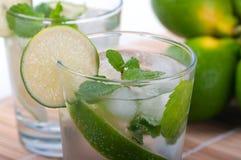 Cocktail di Mojito Fotografie Stock