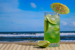 Cocktail di Mojito Fotografia Stock